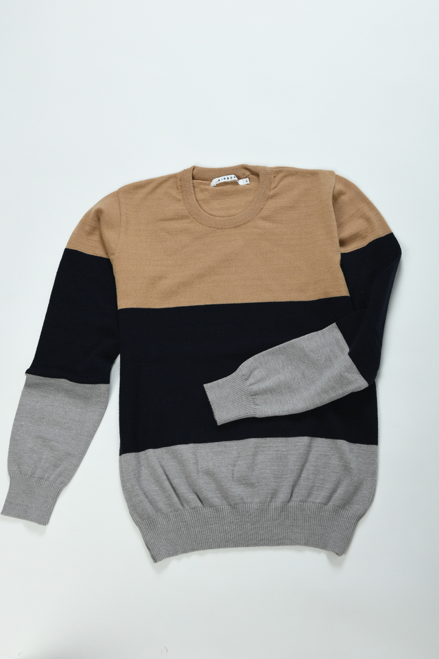SWEATER TRICOLOR - Airborn