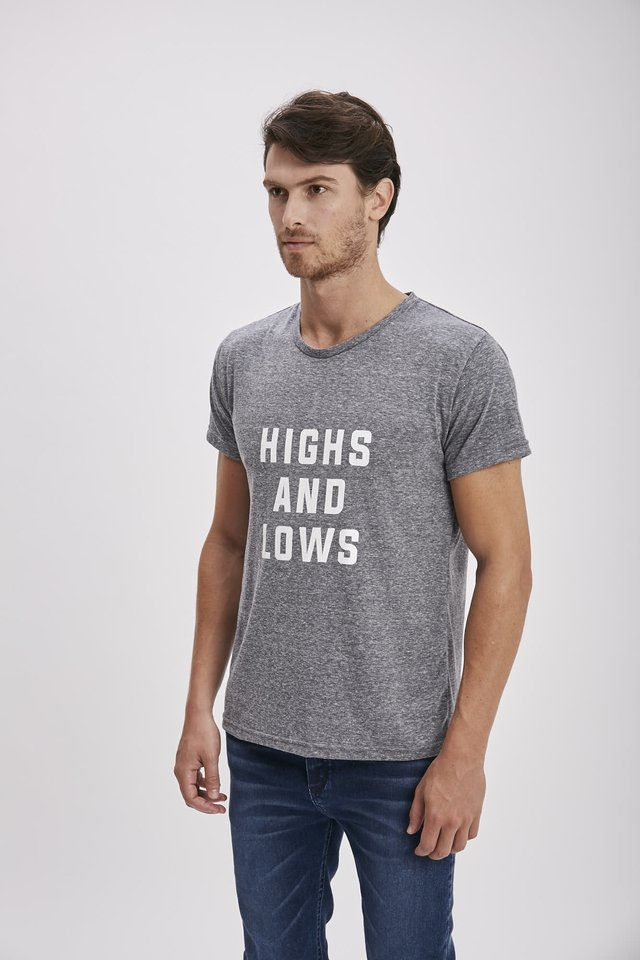 REMERA HIGS AND LOWS - comprar online