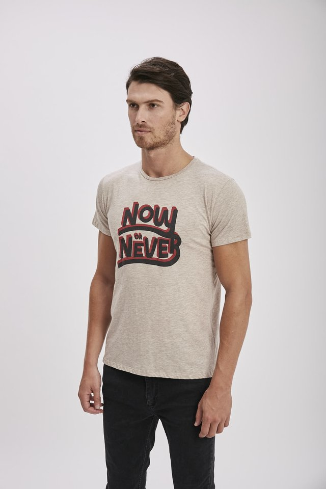 TSHIRT NOW OR NEVER - comprar online