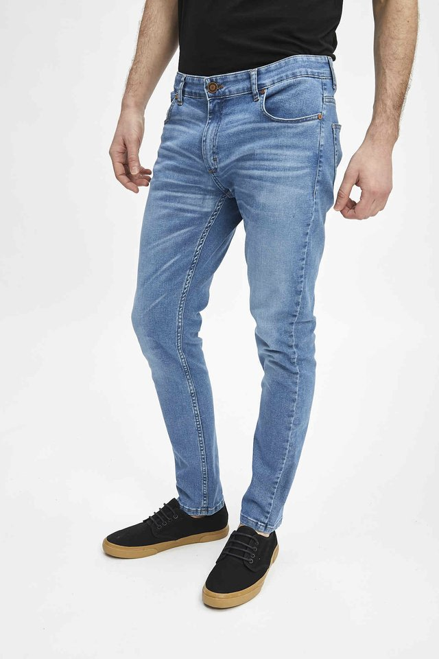 JEAN SLIM FIT BLUE BLACK - comprar online