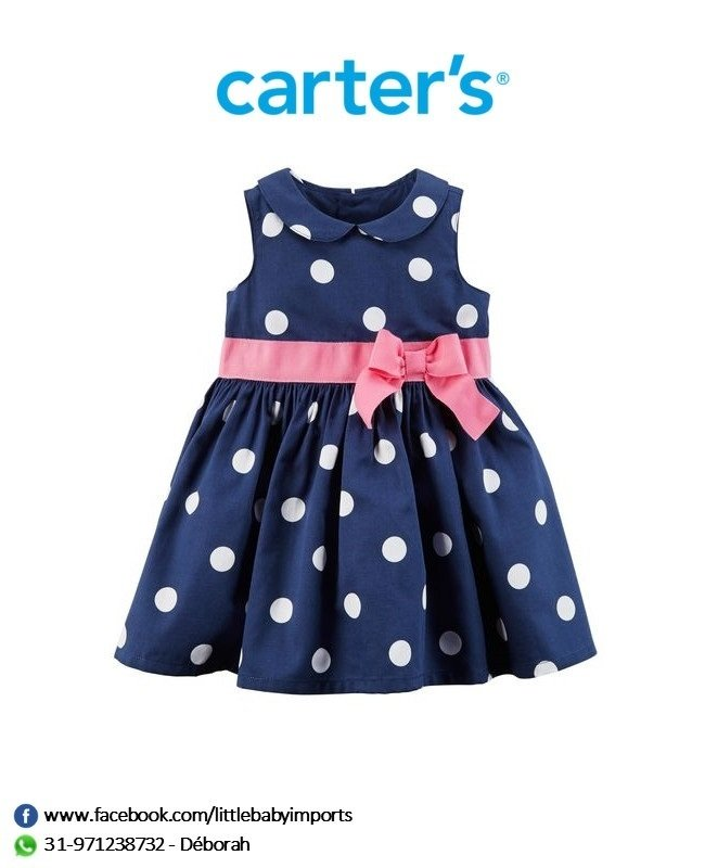 7a6d5f4dd3 Vestido de Festa Carter s - Little Baby Imports