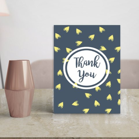 Placa Decor Frases - Thank You