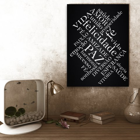 Placa Decor Frases - Sentimentos
