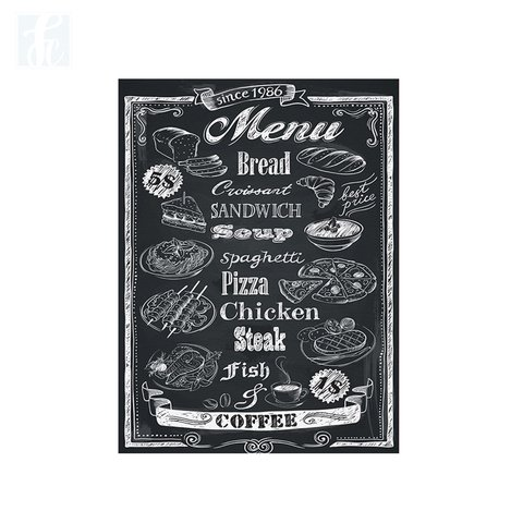 Placa Decor Frases - Menu - comprar online
