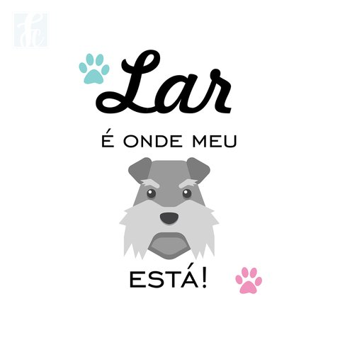 Placa Decorativa Pet - Cachorro - comprar online