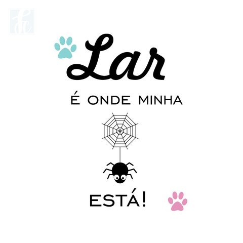 Placa Decorativa Pet - Aranha - comprar online