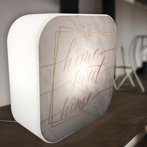 Luminária Ledito Box Color - Home Sweet Home - comprar online