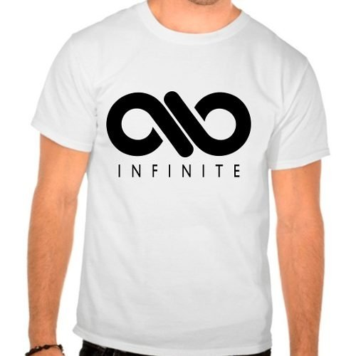 Camiseta Branca Kpop Infinite Only