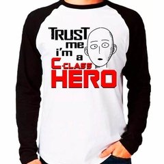 Camiseta Saitama Trust Me Im A C-class Hero One Punch Man