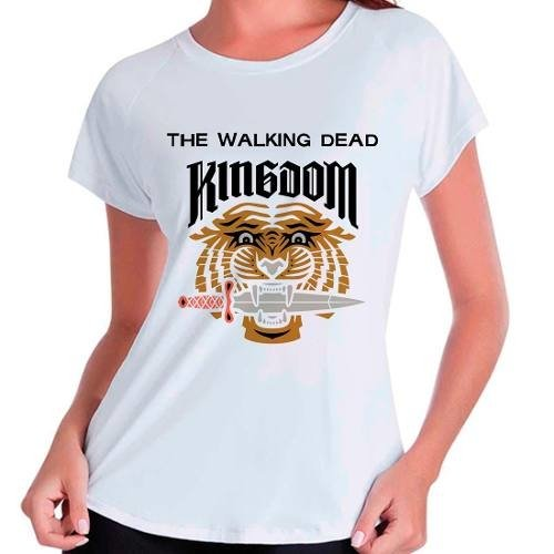 Camiseta The Walking Dead Kingdom Ezekiel Shiva Babylook