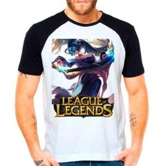 Camiseta Raglan League Of Legends Sona Lol Support