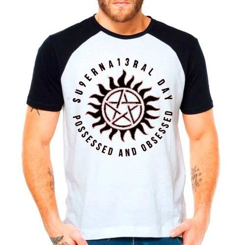 Camiseta Série Supernatural Day Possessed And Obsessed Spn