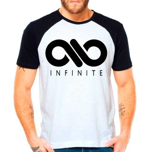 Camiseta Raglan Kpop Infinite Only