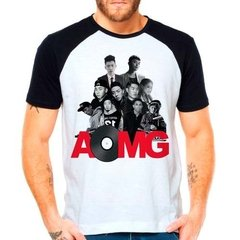 Camiseta Raglan Kpop Aomg Always On My Grind K-pop