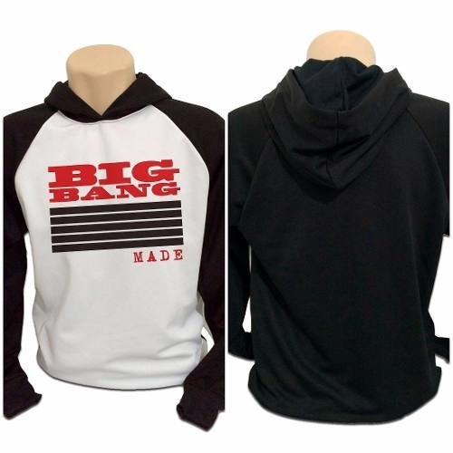 Casaco Blusa Moletom Bigbang Big Bang Made Kpop