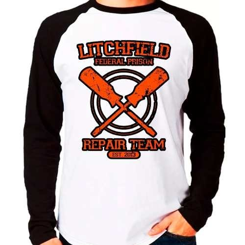 Camiseta Orange Is The New Black Oitnb Litchfield M. Longa