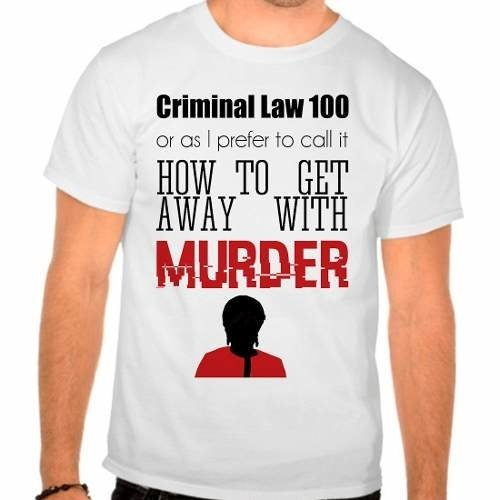 Camiseta Branca Série How To Get Away With Murder
