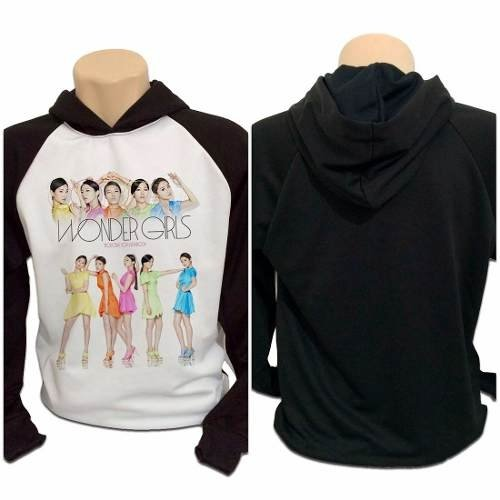 Casaco Blusa Moletom Wonder Girls Kpop Integrantes