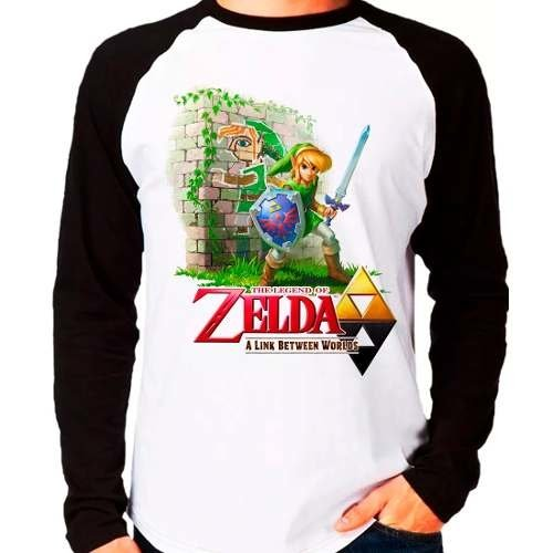 Camiseta The Legend Of Zelda A Link Between Worlds
