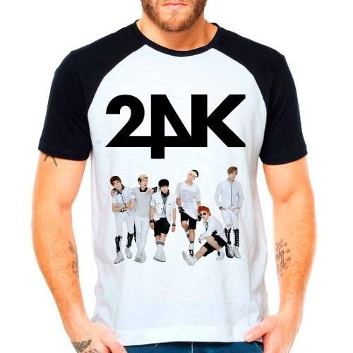 Camiseta Raglan Kpop K-pop 24k Team Integrantes