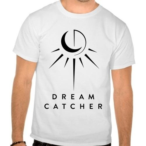 Camiseta Branca Dreamcatcher Dream Catcher Kpop
