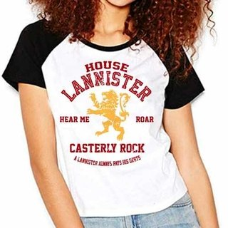 Camiseta Game Of Thrones House Lannister...