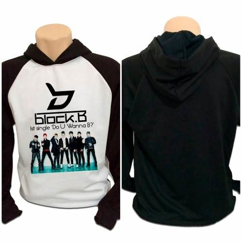 Blusa Moletom Kpop Block B Do U Wanna B? K-pop Integrantes