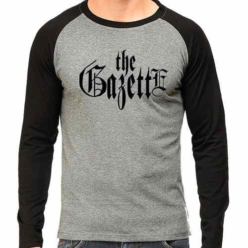 Camiseta The Gazette Jrock Raglan Mescla