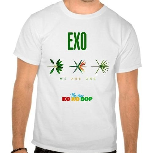Camiseta Branca Exo The War Ko Ko Bop