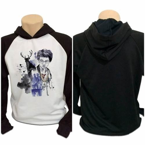 Casaco Blusa Moletom Harry Potter Marotos Tiago James