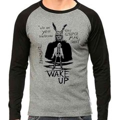 Camiseta Donnie Darko Wake Up Raglan Mescla