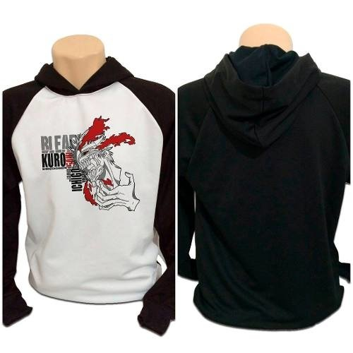 Casaco Blusa Moletom Anime Bleach Hollow Ichigo