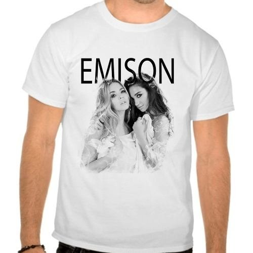 Camiseta Branca Pretty Little Liars Pll Emison