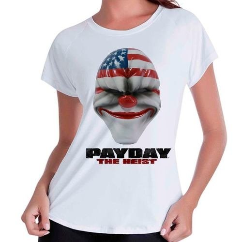 Camiseta Babylook Pay Day Payday The Heist