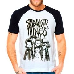 Camiseta Raglan Série Stranger Things