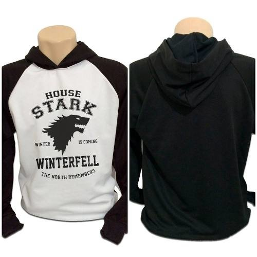 Casaco Blusa Moletom Game Of Thrones Got House Stark Winter