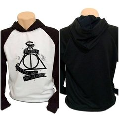 Casaco Blusa Moletom Harry Potter Master Of Death