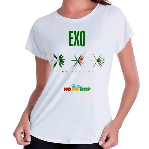 Camiseta Babylook Exo The War Ko Ko Bop