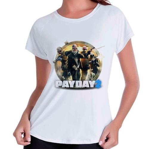 Camiseta Babylook Pay Day 2 Payday2