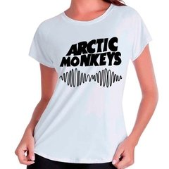 Camiseta Babylook Arctic Monkeys Rock
