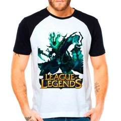 Camiseta Raglan League Of Legends Thresh Lol Support