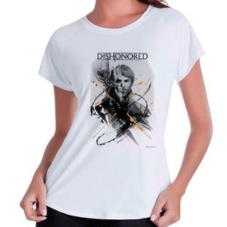 Camiseta Babylook Dishonored Gamer Jogo