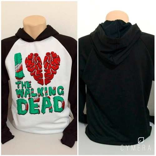 Casaco Blusa Moletom Twd Eu Amo I Love S2 The Walking Dead