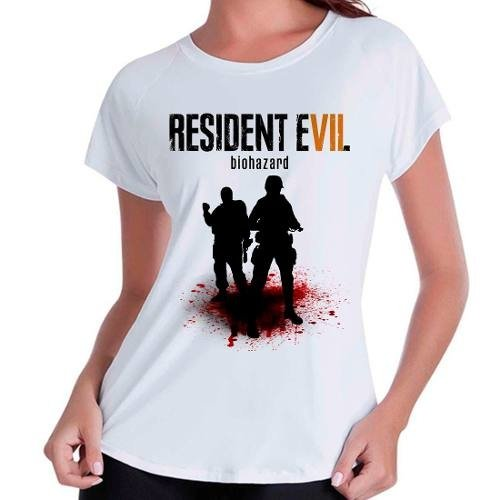 Camiseta Babylook Game Resident Evil 7 Re Vii
