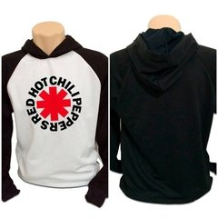 Casaco Blusa Moletom Red Hot Chili Peppers Rock