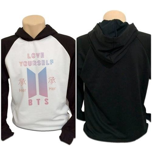 Casaco Blusa Moletom Bts Bangtan Boys Love Yourself Her