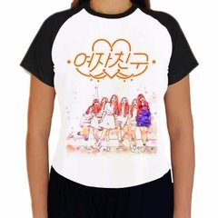Camiseta Gfriend Kpop Girlfriend K-pop Raglan Babylook