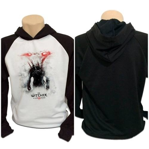 Casaco Blusa Moletom The Witcher 3 Wild Hunt