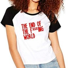 Camiseta End Of The Fucking World Raglan Babylook