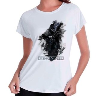 Camiseta Babylook Dishonored V3 Gamer Jo...